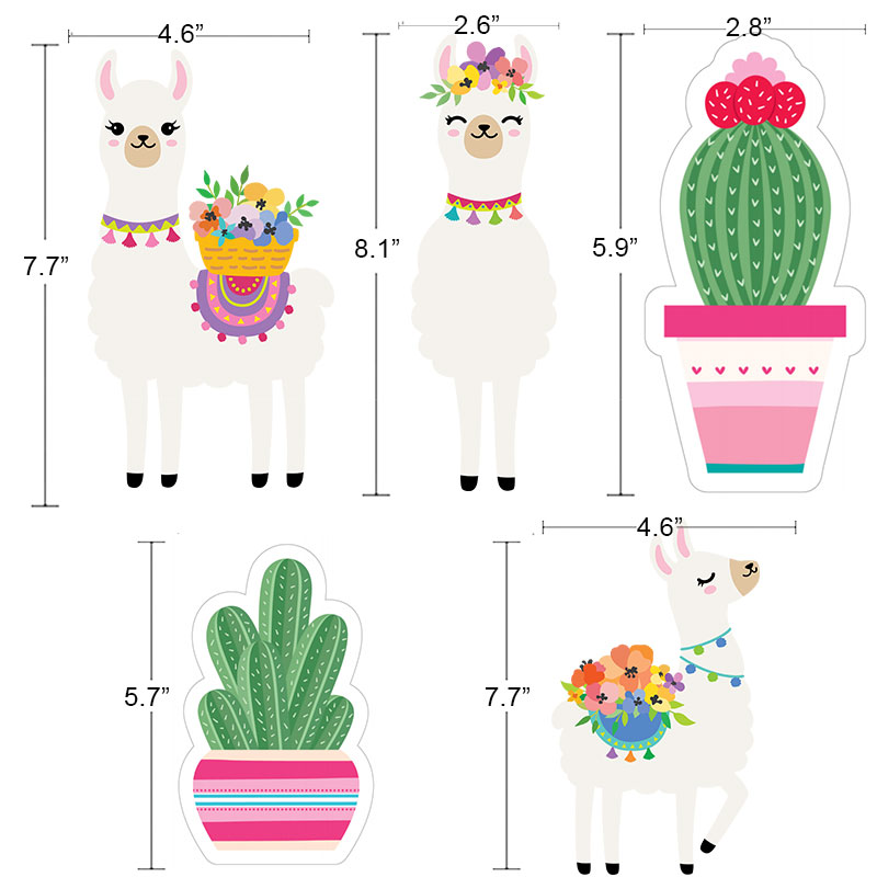 Llama Cactus Hanging Ceiling Swirl Decorations Llama Cactus Themed Hawaiian Summer Birthday Party Supplies